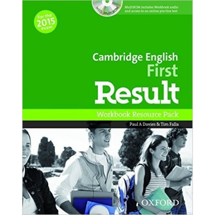 Cambridge English First Result - Workbook Resource Pack (Βιβλίο Ασκήσεων Without Key+CD)