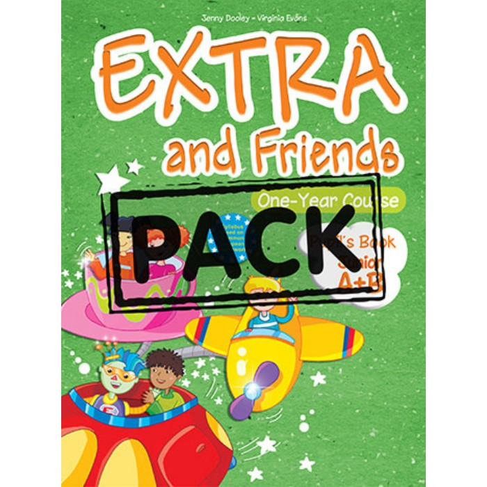 Extra & Friends Junior A+B One Year Course - Pupil's Pack (Pupil's Book+Alphabet Book+CD+i-eBook)