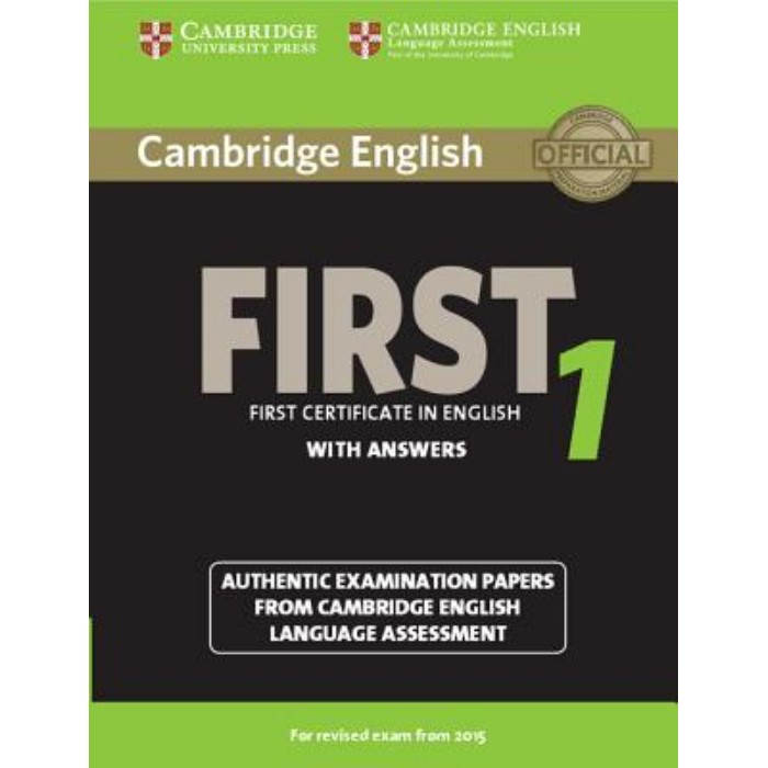 Cambridge First Certificate In English 1 - Student's Book (With Answers)