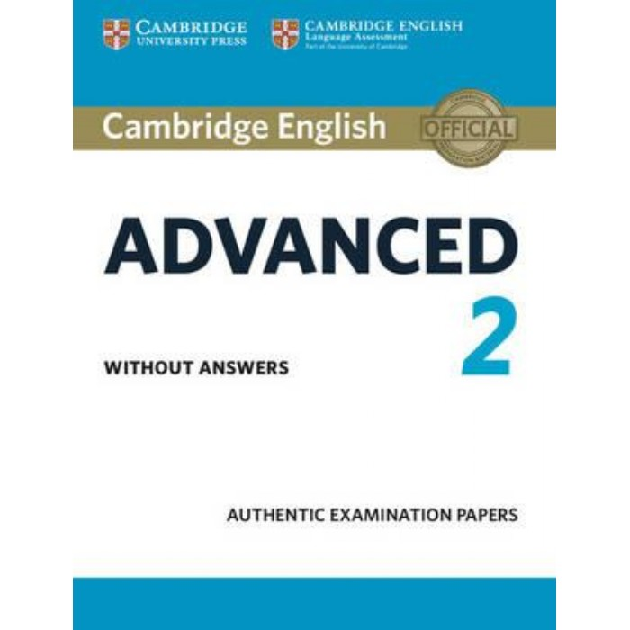 Cambridge English Certificate In Advanced 2 Students Book