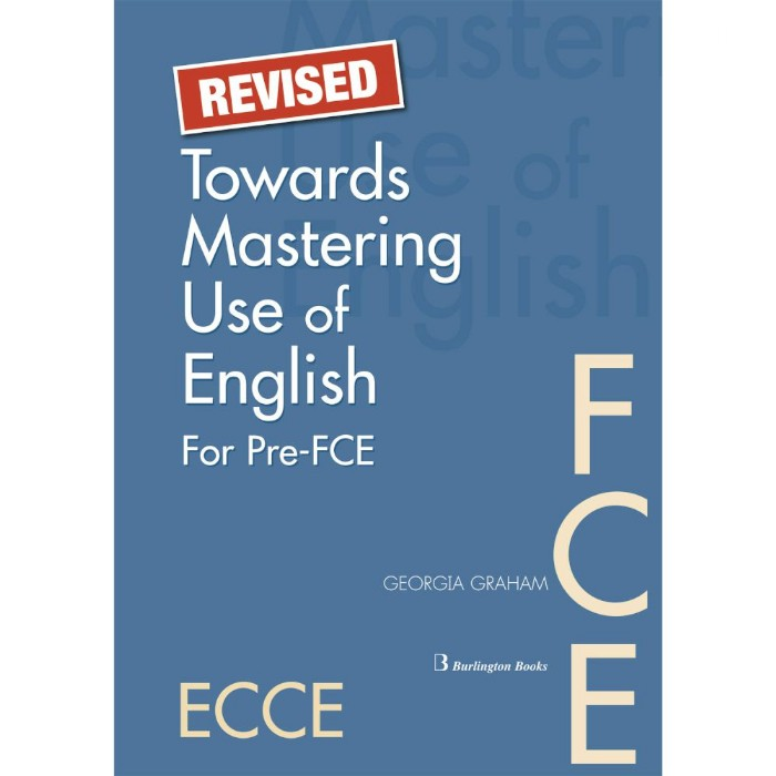 Revised Towards Mastering Use Of English For Pre FCE - Student's Book (Βιβλίο Μαθητή)