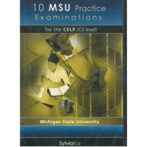 10 MSU Practice Examinations For The CELP C2 Level CDs