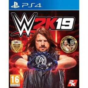 2K WWE 2K19 (+Rey Mysterio & Ronda Rousey Pack) (EU) PS4