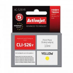 Activejet Μελάνι Canon CLI-526 Yellow