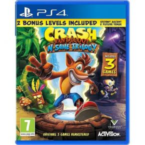 Activision Blizzard Crash Bandicoot N. Sane Trilogy 2.0 (Bonus Edition EU) PS4