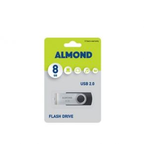 Almond 8GB Twister USB Stick 2.0