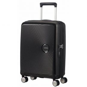 American Tourister Βαλίτσα Καμπίνας Soundbox Spinner Expandable 88472-1027 Cabin Black