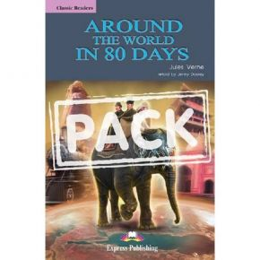 Around The World In Eighty Days - Reader (+CD)