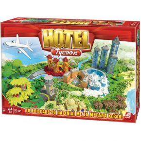 AS Company Επιτραπέζιο Παιχνίδι Hotel Tycoon New