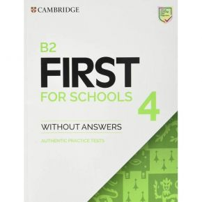 B2 First For Schools 4 Student's Book Without Answers