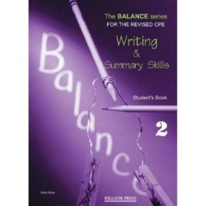 Balance 2 Writing & Summary Skills - Student's Book (Βιβλίο Μαθητή)