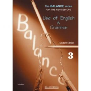 Balance 3 Use Of English + Grammar - Student's Book (Βιβλίο Μαθητή)