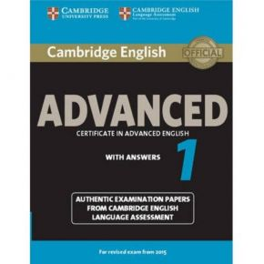 Cambridge Certificate In Advanced English 1 - Student's Book (With Answers)
