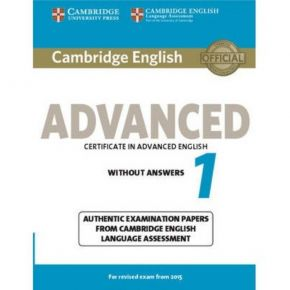 Cambridge Certificate In Advanced English 1 (Without Answers)
