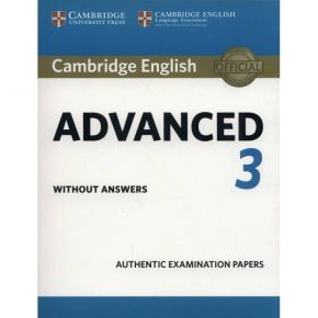 Cambridge English Advanced 3 - Student's Book Without Answers
