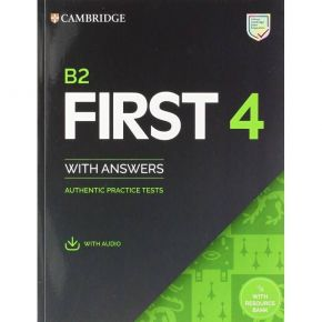 Cambridge English First 4 - Student's Book With Answers (+ Downloadable Audio)