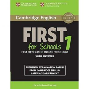 Cambridge English First For Schools 1 (With Answers)