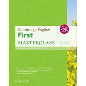 Cambridge English First Masterclass - Student's Book (Βιβλίο Μαθητή+Online Skills Practice Pack)
