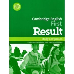 Cambridge English First Result - Companion (Γλωσσάριο)