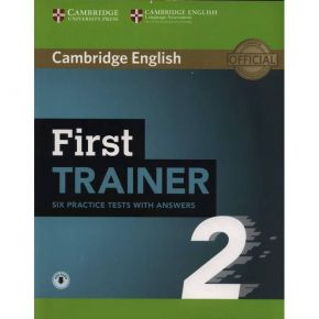 Cambridge English First Trainer 2 - Student's Book With Answers (+ Downloadable Audio)