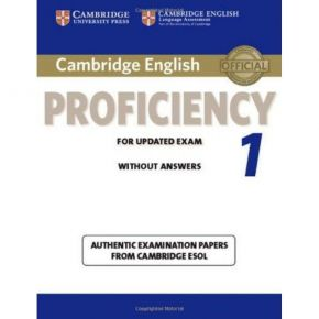 Cambridge English Proficiency 1 For Updated Exam - Student's Book (Without Answers)