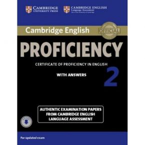 Cambridge English Proficiency 2 - Self Study Pack (With Answers+Downloadable CDs)