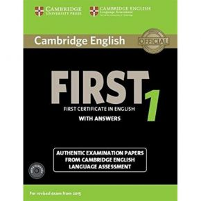 Cambridge First Certificate In English 1 - Self Study Pack
