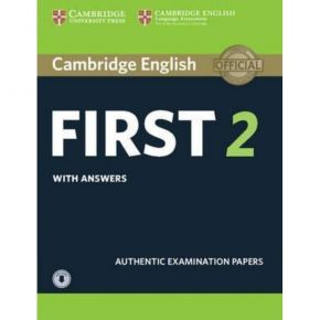 Cambridge First Certificate In English 2 - Self Study Pack (Student's Book With Answers + Downloadable Audio)