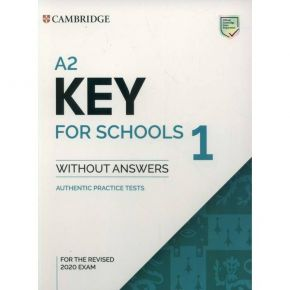 Cambridge Key English Test 1 - Student's Book (Without Answers)