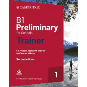 Cambridge Preliminary English For Schools Trainer 1 - Student's Book With Answers (+ Downloadable Audio)