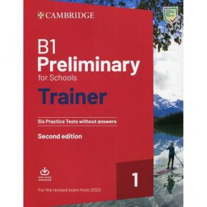 Cambridge Preliminary English For Schools Trainer 1 - Student's Book Without Answers (+ Downloadable Audio)