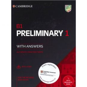 Cambridge Preliminary English Test 1 - Self Study Pack (+ Downloadable Audio)