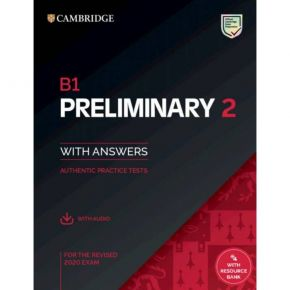 Cambridge Preliminary English Test 2 - Self Study Pack (+ Downloadable Audio)