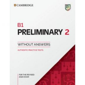 Cambridge Preliminary English Test 2 - Student's Book