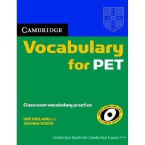 Cambridge Vocabulary For PET - Book Without Answers