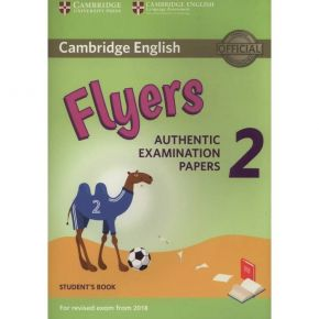 Cambridge Young Learners English Tests Flyers 2 - Student's Book (For Revised Exam From 2018)