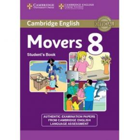 Cambridge Young Learners English Tests Movers 8 - Student's Book