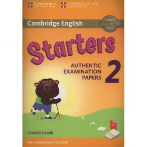 Cambridge Young Learners English Tests Starters 2 - Student's Book (For Revised Exam From 2018)