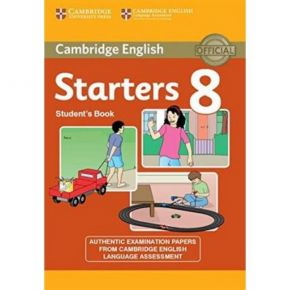 Cambridge Young Learners English Tests Starters 8 - Student's Book