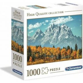 Clementoni Παζλ 1000 Τεμ. High Quality Collection Grand Teton In Fall