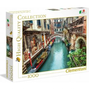 Clementoni Παζλ 1000 Τεμ. High Quality Collection Venice Canal