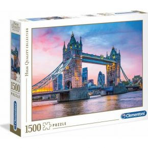 Clementoni Παζλ 1500 Τεμ. High Quality Collection Tower Bridge Sunset
