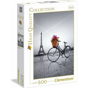 Clementoni Παζλ 500 Τεμ. High Quality Collection Romantic Promenade In Paris