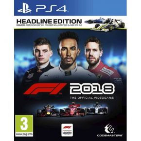 Codemasters F1 2018 - Headline Edition (EU) PS4