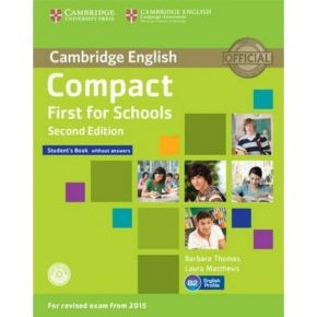 Compact First For Schools - Student's Book (+CD)