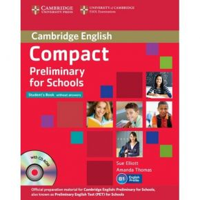 Compact Preliminary For Schools - Student's Book (+CD)