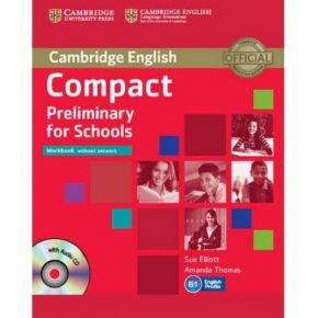 Compact Preliminary For Schools - WorkBook (+CD)