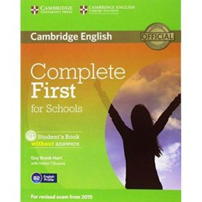 Complete First For Schools - Student's Book (Without Answers+CD)