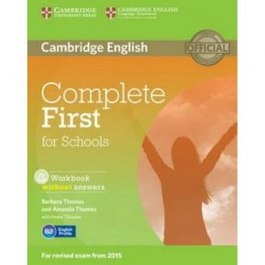 Complete First For Schools - Workbook (+CD)