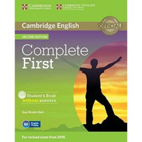 Complete First - Student's Book (Without Answers+CD)